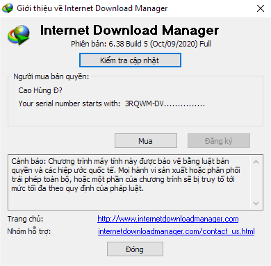 Internet Download Manager (IDM) - Trọn đời photo review