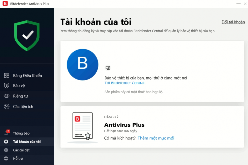 Bitdefender Antivirus 2021 1PC/ năm photo review